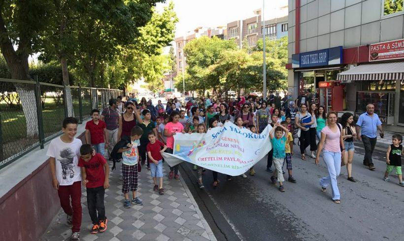 Soma'da Bu Yıl Üçüncüsünü Gerçekleştirdiğimiz Yaz Okulu 10 Temmuzda Başladı!