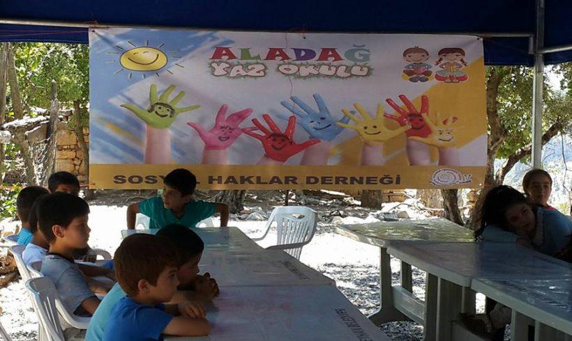 Aladağın Kışlak ve Köprücek Köylerinde Yaz Okullarımız Başladı!