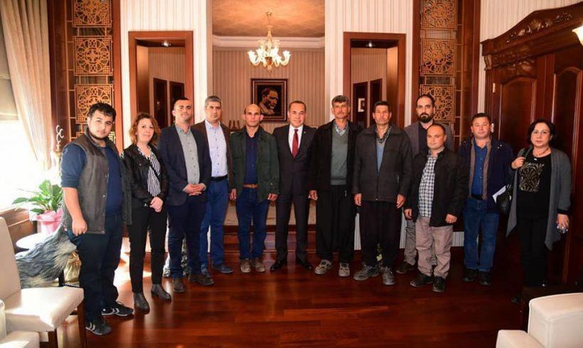 Aladağ'ın Köprücük Köyü'nün yol sorununu çözeceğiz