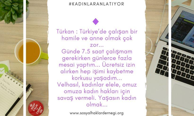 Türkiye'de 'kadın' olmak