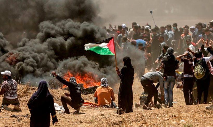 ABD ve İsrail'in Filistin Halkına Yönelik Katliamını Lanetliyoruz; Filistin Halkı Yalnız Değildir
