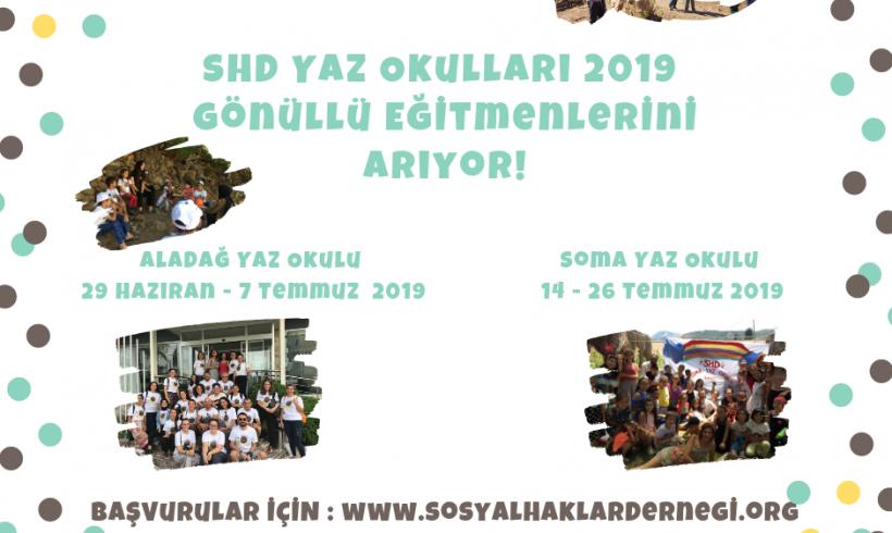 Sosyal Haklar Derneği Yaz Okulları Gönüllülerini Arıyor!