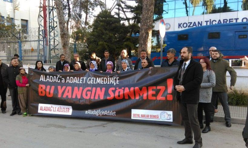 """Soma, Aladağ, Gezi ve Çorlu'da ölenlerin yakınları: """"Çocuk katilleri, kadın katilleri, işçi katilleri serbest kalacak"""""""